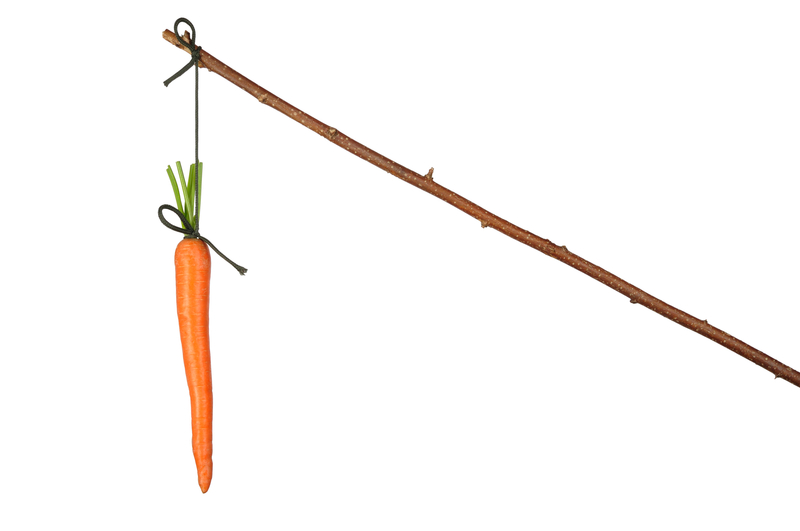 How to get people to use your CRM system – a carrot & stick checklist